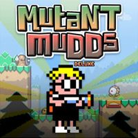 Game Box for Mutant Mudds Deluxe (PC)