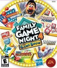 Game Box for Family Game Night 4: The Game Show (Wii)