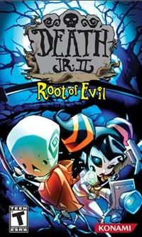 Game Box for Death Jr.: Root of Evil (Wii)