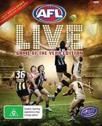 Game Box for AFL Live (PS3)