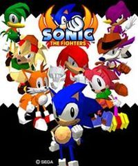 Okładka Sonic the Fighters (X360)