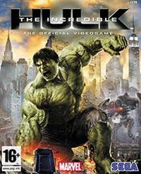Game Box for The Incredible Hulk (2008) (PC)