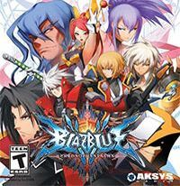 Okładka BlazBlue: Chrono Phantasma (PS3)