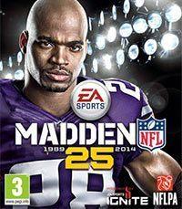 Okładka Madden NFL 25 (PS4)