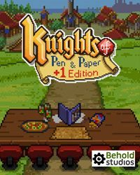 Game Box for Knights of Pen and Paper +1 Deluxier Edition (PS4)