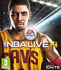 Okładka NBA Live 14 (PS4)