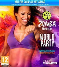 Game Box for Zumba Fitness World Party (Wii)