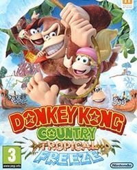 Okładka Donkey Kong Country: Tropical Freeze (Switch)