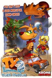 Game Box for Ty the Tasmanian Tiger 2: Bush Rescue (Switch)