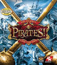Game Box for Sid Meier's Pirates! (2004) (PC)