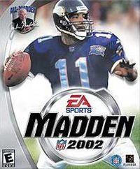Okładka Madden NFL 2002 (GCN)
