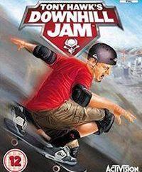 Game Box for Tony Hawk's Downhill Jam (PS2)