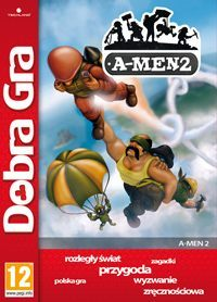 Game Box for A-Men 2 (PS3)