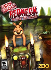 Game Box for Calvin Tucker's Redneck: Farm Animal Racing Tournament (NDS)