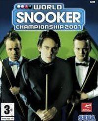 Okładka World Pool Championship 2007 (PS2)