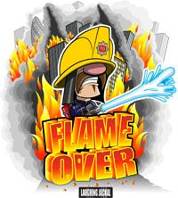 Game Box for Flame Over (PC)