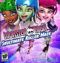 Game Box for Monster High: Skultimate Roller Maze (Wii)