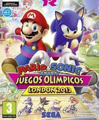 Game Box for Mario & Sonic at the London 2012 Olympic Games (3DS)