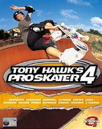 Game Box for Tony Hawk's Pro Skater 4 (PC)