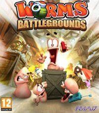 Okładka Worms Battlegrounds (PS4)