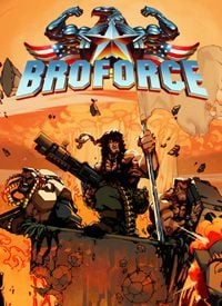 Broforce (PC cover