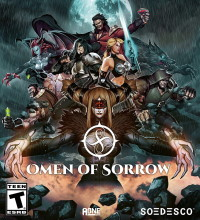 Omen of Sorrow (PC cover