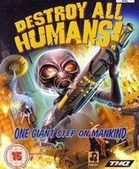 Okładka Destroy All Humans! (2005) (XBOX)