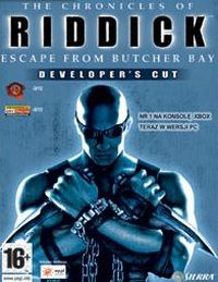 Game Box for The Chronicles of Riddick: Escape From Butcher Bay - DC (PC)