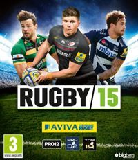 Game Box for Rugby 15 (X360)