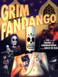 Game Box for Grim Fandango Remastered (PC)