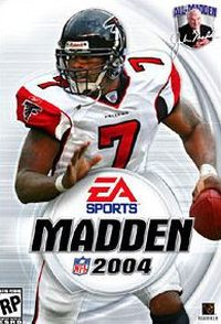 Game Box for Madden NFL 2004 (PC)