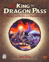 King of Dragon Pass (PC cover