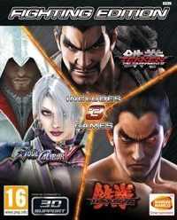 Okładka Fighting Edition (PS3)