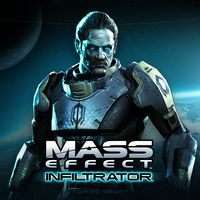 Okładka Mass Effect Infiltrator (AND)