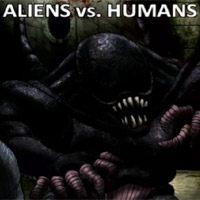 Aliens versus Humans (iOS cover