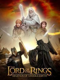 Game Box for The Lord of the Rings: Legends (AND)