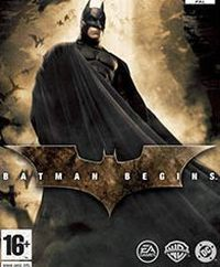 Okładka Batman Begins (PS2)