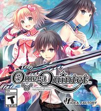 Game Box for Omega Quintet (PS4)