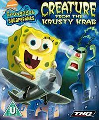 SpongeBob SquarePants: Creature from the Krusty Krab cover