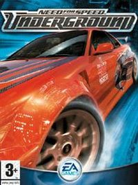 Game Box for Need for Speed: Underground (PC)
