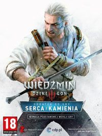 Game Box for The Witcher 3: Hearts of Stone (PC)
