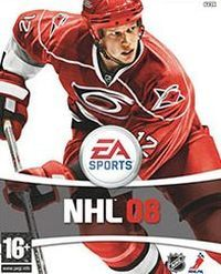 Okładka NHL 08 (PS3)