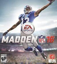 Okładka Madden NFL 16 (PS4)