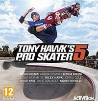 Game Box for Tony Hawk's Pro Skater 5 (PS3)