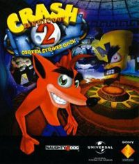 Game Box for Crash Bandicoot 2: Cortex Strikes Back (AND)
