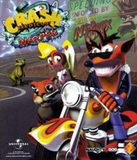 Game Box for Crash Bandicoot 3: Warped (PSP)