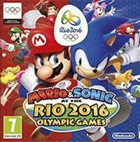 Game Box for Mario & Sonic at the Rio 2016 Olympic Games (WiiU)