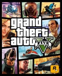 Game Box for Grand Theft Auto V (PC)