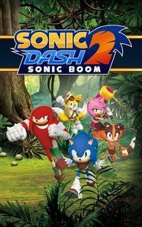 Okładka Sonic Dash 2: Sonic Boom (AND)