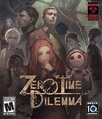 Okładka Zero Escape: Zero Time Dilemma (PS4)